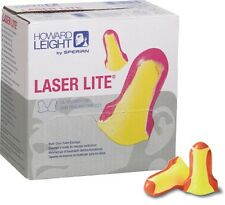 5 BOXES OF 200pr, Howard Leight Laser Lite Uncorded NRR 32 Disposable Ear Plugs