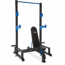 Power Lifting Cage Press Weight Rack Squat Fitness Brand New Serious Trainer NEW
