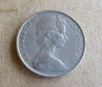 AUSTRALIAN 1967 10 CENT COIN...