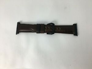 Nomad Classic Leather Watch Band Strap for Apple Watch 5 4 3 2 42mm 44mm - Brown