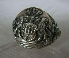 Hamburg Wappen Ring Silber 925