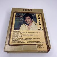 Rare Canada Import: Charley Pride Charley (Self Titled) 8-Track Tape Brown Cart