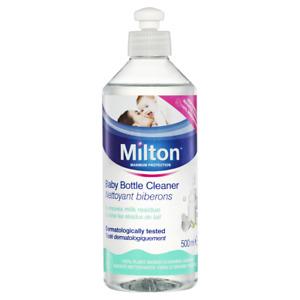 Milton Baby Bottle Cleaner 500mL Removes Milk Residue Fragrance Paraben Free