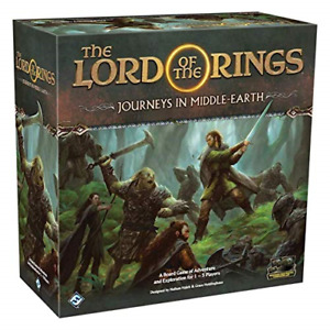 Fantasy Flight Games - Lord of the Rings: Journeys in Middle-Earth - Board Game