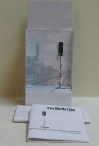 MARKLIN 74391 HO Color Light Block Signal, new in packaging