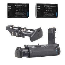 Vertical Battery Grip for Canon 7D MarkII +battery for canon 2PCS LP-E6