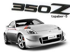 Matte Black Nismo 350Z Emblem Trunk Badge Sticker Decal Z Z33 GTS GT350Z