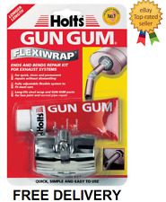 Holts Gun Gum Flexiwrap Ends & Bends Exhaust Repair Kit For Exhausts
