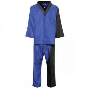 Elite Splice Team Uniform Blu Kampfsport Anzug Freestyle Demo Erwachsene Kinder