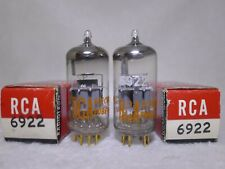 NOS/NIB Matched Pair Siemens E88CC/6922 O-Getter Germany Gold Pin Same Date 1965