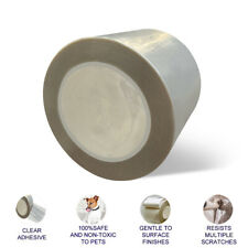 """Cat Scratch Deterrent Tape,Protection furniture Tape pins free (4"""" x 30yds)"""