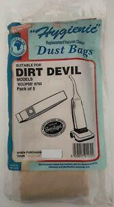 Vacuum Bags - Dirt Devil Eclipse (8750) - 25 Bags