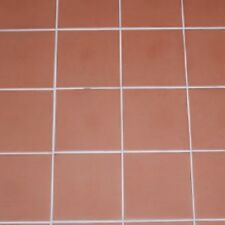 RED QUARRY ITALIAN, FROST- PROOF FLOOR TILES 15 x 15cm JOB LOT OF 10 SQ.METERS