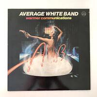 "Average White Band – Warmer Communications 12"" LP Vinyl Record VG+ SD 19162"