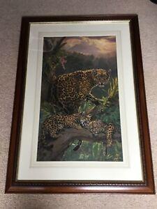 Beauriful Limited Ed Framed Print The Family Tree Jaguars Lee Kromschroeder