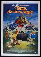 Manifesto Taron E La Olla Mágica Walt Disney Animación Brujo M279