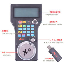 3 Axis 2.4G USB Mach3 100PPR  MPG CNC Wireless Remote Controller with cable