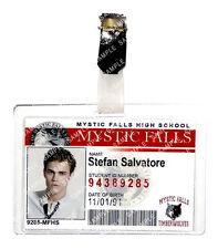 The Vampire Diaries Stefan Salvatore ID Badge Cosplay Prop Costume Comic Con