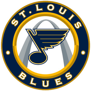 St Louis blues  ,corn hole set of 2 decals ,Free shipping, Made in USA
