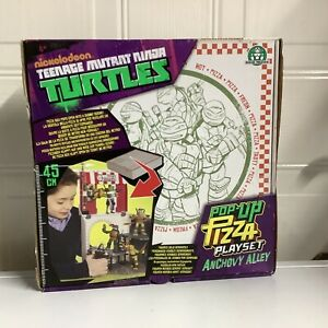 Teenage Mutant Ninja Turtles Pop Up Pizza Playset Anchovy Alley (Brand New)