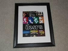 "The Doors Studio Albums Poster FRAMED, 14""x17"", LA Woman, The Soft Parade"