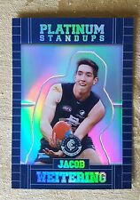 2017 Select AFL Footy Stars - Platinum Standups PS18 Jacob Weitering 025/375