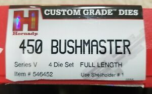 Hornady 450 Bushmaster 4-die set
