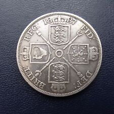 More details for 1887 double florin victoria jubilee roman i