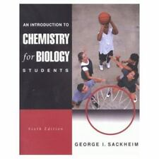 An Introduction to Chemistry for Biology Students (6th Edition)