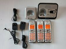 AT&T EL52300 3 Handset Cordless home Phone Digital Answering System Caller ID