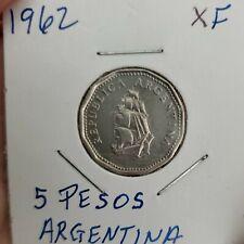 Argentina, 5 Pesos 1962 (XF)