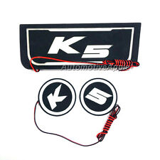 LED Cup Holder Console Plate Without electronic parking For 11 12 Kia Optima K5