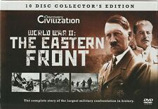 World War II: The Eastern Front, 10 DVD Discovery Civilization Box Set, Region 2