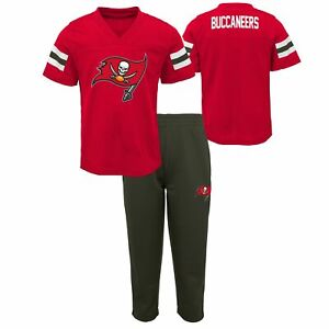 Outerstuff NFL Toddlers Tampa Bay Buccaneers Training Camp Top and Pants Set