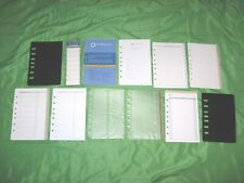 Classic 1 Year Undated Refill Tab Page Lot Franklin Covey Planner Fill Set B