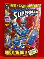 Superman The Man of Steel # 22 REIGN OF SUPERMEN DC Comics 1993 C4