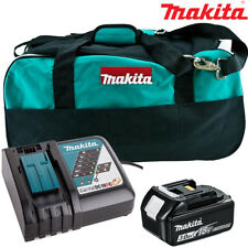 Makita BL1830 3.0Ah Battery + DC18RC Charger + LXT400 Bag For DTW285Z, DHR171Z