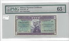 MPC Series 681  5 Dollars PMG 65EPQ  GEM UNC