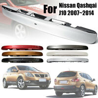 6 Color ABS Rear Tailgate Boot Lid Handle Trim For Nissan Qashqai J10  🔥