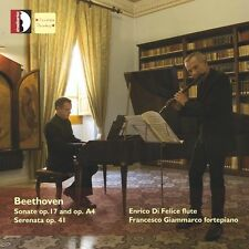 Enrico di Felice - Beethoven: Works for Flute & Piano [New CD]