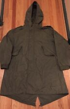 Vintage Korea War US Army M-1951 Shell Fishtail Parka Millville Sportswear Inc.