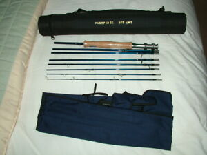 Superb Partridge, 8pc Travel Rod. Model 1650 - 806, 9', AFTM #8 Trout Fly Rod.