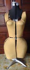 Vintage Dressmakers Dress Form Adjustable Mannequin