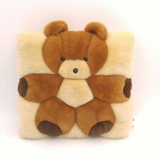Vintage 1998 Teddy Bear Pillow - T.W.I.E.