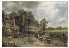 John Constable The Hay Wain Postcard unused VGC