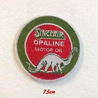 Sinclair Opaline Motor Oil Badge Iron on Sew on Embroidered Patch #1749