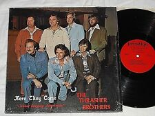 THE THRASHER BROTHERS-Here They Come (1976) PRESTIGE LP *Cover In Shrink*