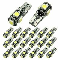 6 Pcs T10 Led Canbus  5 SMD Car Side Wedge light Bulb White 168 194 W5W US