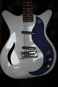 Danelectro electric guitar.