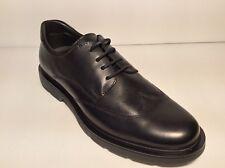 Zapatos Hombre Cordones BRAKING Art 6211 con Negro Piel Auténtica Cómodo Leer